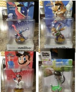 5 Amiibo, selling seperately