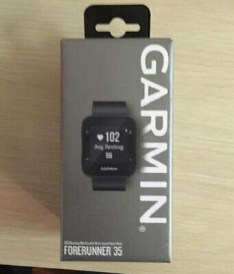 Garmin Forerunner 35 GPS Running Watch 010-01689-00, Black, Brand New