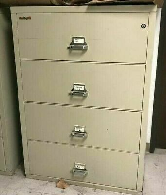 Fireking 4-drawer Lateral File Cabinet 44 Wide