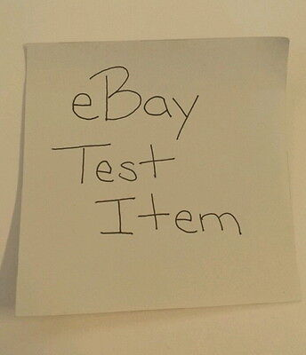Testing item - do not purchase!