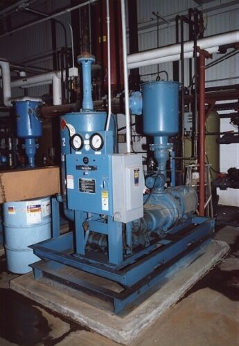 QUINCY WATER COOLED VACUUM PUMP: YODER #50275
