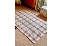 Laura Ashley rug - £25 measures 47'' x 70'' RRP £120