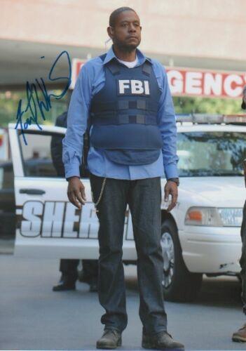 """Forest Whitaker """"Criminal Minds"""" Autogramm signed 20x30 cm Bild"""