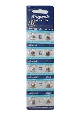 10 X pilas de botón alcalinas AG3 LR41 392 SR41 192 en...