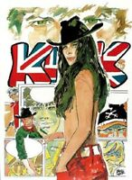 Hugo Pratt,sgt Kirk 14 Poster 50x70 -  - ebay.it