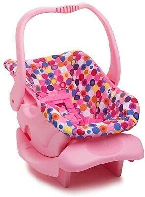 खिलौना कार सीट, गुड़िया गौण, गुड़िया फर्नीचर, गुलाबी डॉट