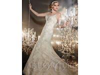 Art Couture AC381 Lace Wedding Dress size 10