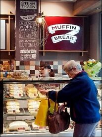 Baristas & Bakers - New Muffin Break Bakery Cafe, Belfry Shopping Centre Redhill, FT & PT available