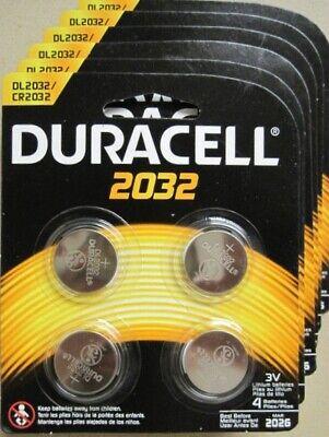 Duracell 3V DL2032 / CR2032 Lithium Battery 24 Pack Fresh Dated 2028 comprar usado  Enviando para Brazil