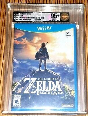 Legend of Zelda Nintendo Wii U Breath of the wild VGA 95+ *remote error* Uncirc