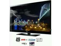"LG 50"" HD TV with FREEVIEW & BBC IPLAYER"