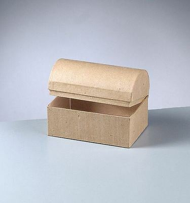 Papp Art Box SCHATZTRUHE 8x5,5 Mosaik deko 2634404