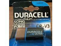 Duracell CR-V3 Lithium battery