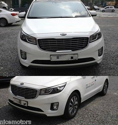 Genuine Parts Fog Lamp Cover 4EA 1SET For KIA Sedona Carnival 2014 2016