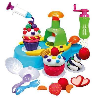 Simba Knete Knetset Kuchen Backen Kinder Geschenl Cupcakes Art &Fun Set Cupcake
