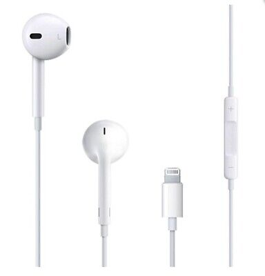  GENUINE APPLE LIGHTNING EARPHONES HEADPHONES for iPhone 7 / 8 /X / XR / XS MAX