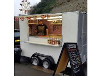 Catering Trailer/ Burger Van, complete with equipment, ready to go!