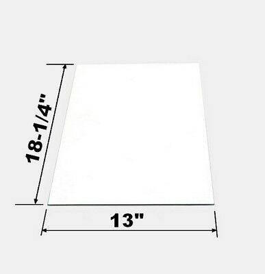 Replacement Side Glass Panel For Large 8 Oz Great Northern Popcorn Machine
