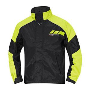 Manteau et pantalon de pluie Can-AM Noir et Jaune Unisex