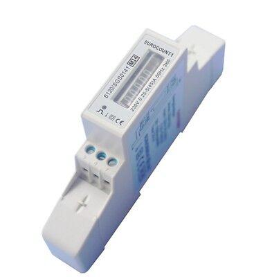 2 Stck. Wechselstromzähler Stromzähler MID GEEICHT 5(45)A mit S0 für Hutschiene