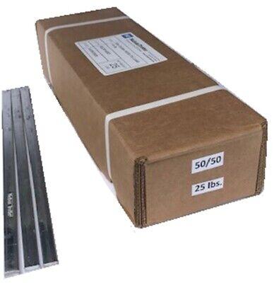 5050 Tin-lead Bar Solder - 13.99 Lb. 25 Lb.box 12 Lb. Bars Free Shipping