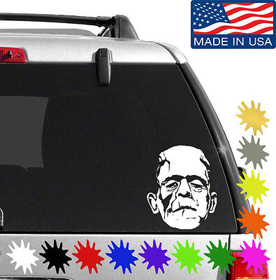 Frankenstein Decal Sticker BUY 2 GET 1 FREE Choose Size & Color Horror Halloween - Halloween Buy