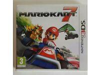 Mariokart 7, 3DS game