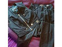 Versace jeans couture vintage 90s suit