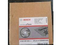 Bosch grinder blades 115mm for metal pack of 25