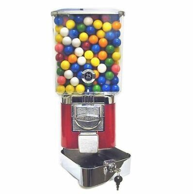 Deluxe Token Vending Machine Candy Gumball 1 Toy Superball Reward Vendor Prizes