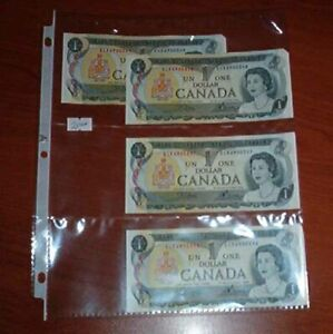 Uncirculated Canadian  $1