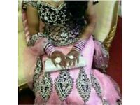 Wedding dress lengha bridal dress prom dress