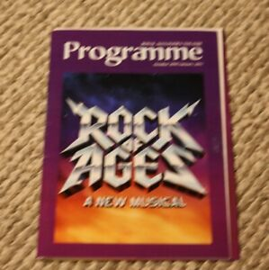 Rock of Ages Official Programme Toronto 2010-2011