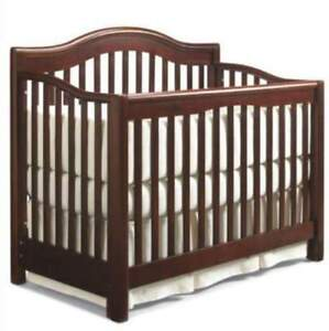 Crib and crib mattress (dresser available)