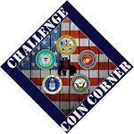 Challenge coin Corner
