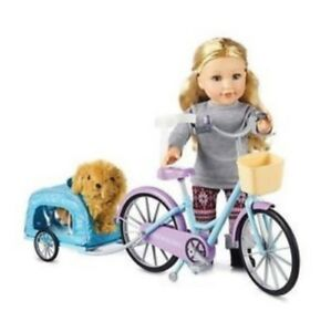 NEWBERRY BICYCLE & PUPPY SET BRAND NEW