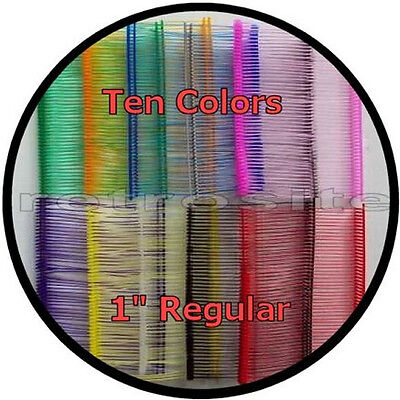 "1000 Price Tag Tagging Gun 1"" REGULAR Barbs Fasteners 10 COLORS -TOP QUALITY"