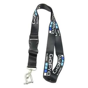 Black Soft Neck Strap Belt Stainless Hook for Gopro HERO Camera SJ4000 SJCAM GO195