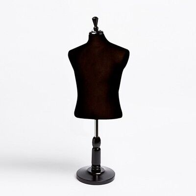 New Countertop Dress Jersey Form Mens Male Black Mannequin W Base