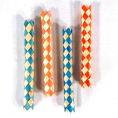 72  BAMBOO CHINESE FINGER TRAPS  mind puzzle trap