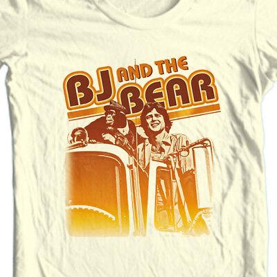 BJ & the Bear T-shirt 1970's retro television show WETV  free shipping NBC281