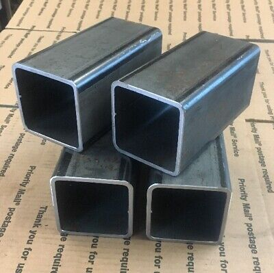 3 Steel Square Tube 316 Tubing Wall Steel Brace Support Weld 6 L 4 Pcs