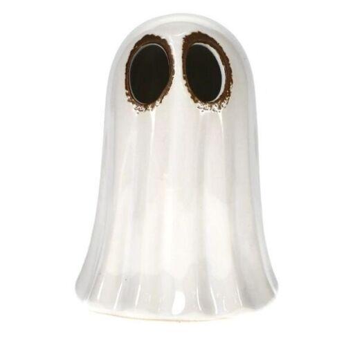 Halloween Ceramic Light-up Ghost Figurine