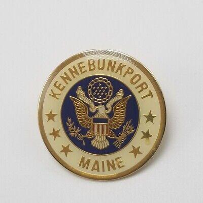 Vintage Kennebunkport Maine Pin Seal of US Presidency George W. Bush - New RARE! (George W Bush Costume)
