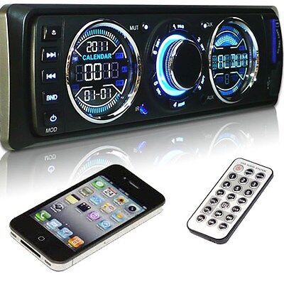 In dash SD USB MP3 detachable face car stereo audio radio player gear3892 on Rummage