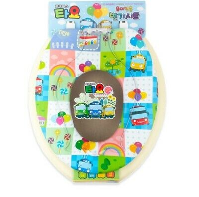 Pinkfong Shark Family Soft Toilet Cover Lid Seat Potty Training For Baby Kids