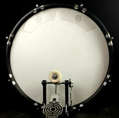 Wambooka Kick Bass Drum Muffling Gel Dampers System - 4 Pack - Clear Prism
