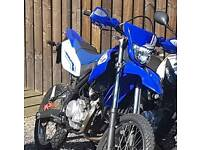 2013 Yamaha WR 125cc 1900miles 1 owner service history.