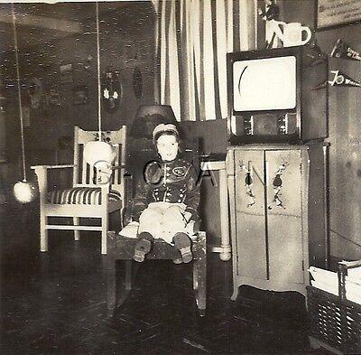 Vintage Baseball Player Costume (Original Vintage 40s Halloween Party RP- Costumes- Baseball Player- Old TV-)