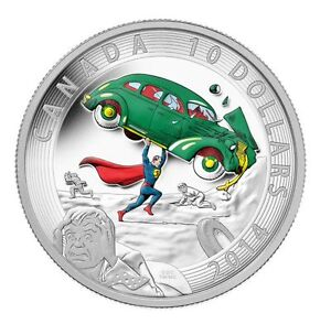 2014 $10 Action Comics #1 (1938): Iconic Superman™ Coin